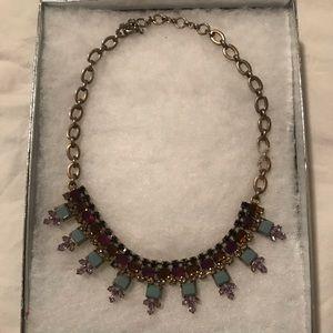 J. Crew multi-colored statement necklace
